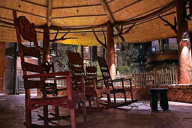 Relax in at the Animal Kingdom Lodge
