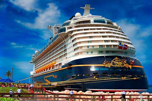The Disney Wonder is the host of a 3 day Disney Cruise