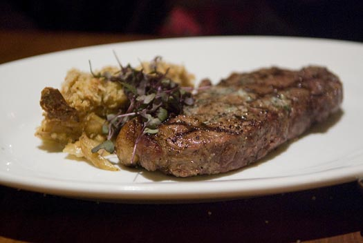 A New York Strip from Le Cellier. You'll need an Advanced Dining Reservation for this one.