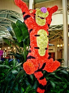 Tigger from the Crystal Palace where you will need an Advanced Dining Reservation