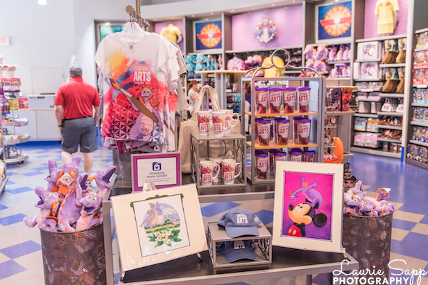 The EPCOT International Festival of the Arts merchandise