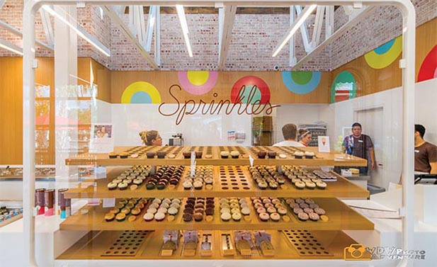 Sprinkles has the perfect late night snack at Disney World, cupcakes