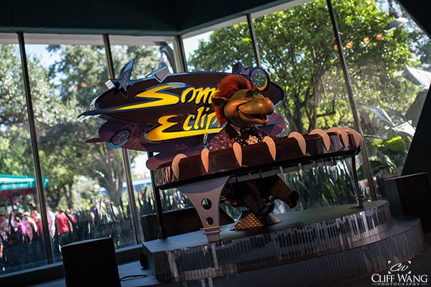 Sonny Eclipse putting on a show at Cosmic Ray's Starlight Cafe