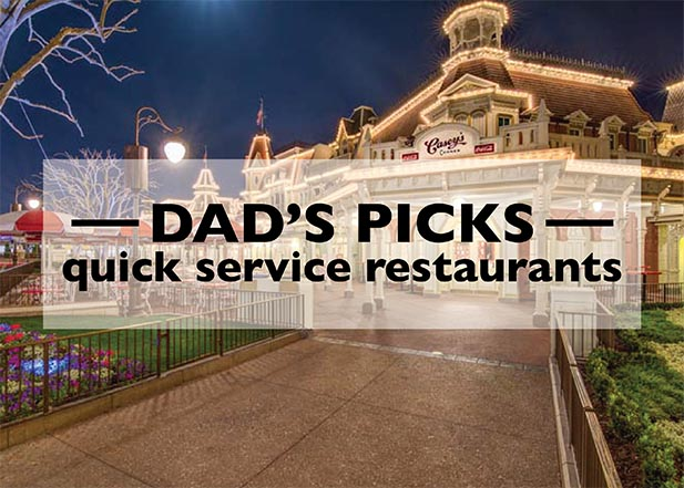Dad's Quick Service Picks