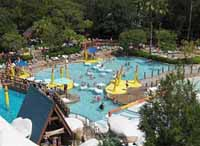 Blizzard Beach from above one of the best Disney World parks