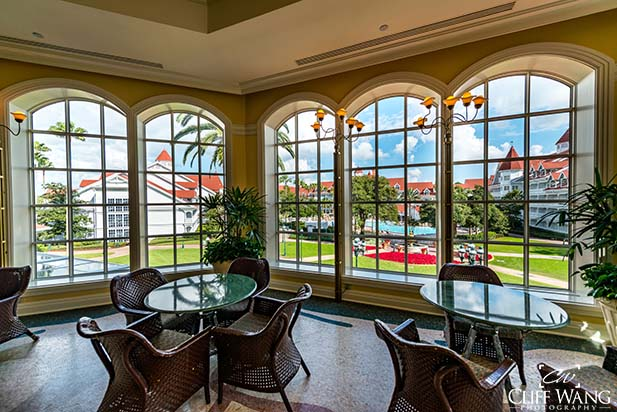 The vew from Grand Floridian Cafe