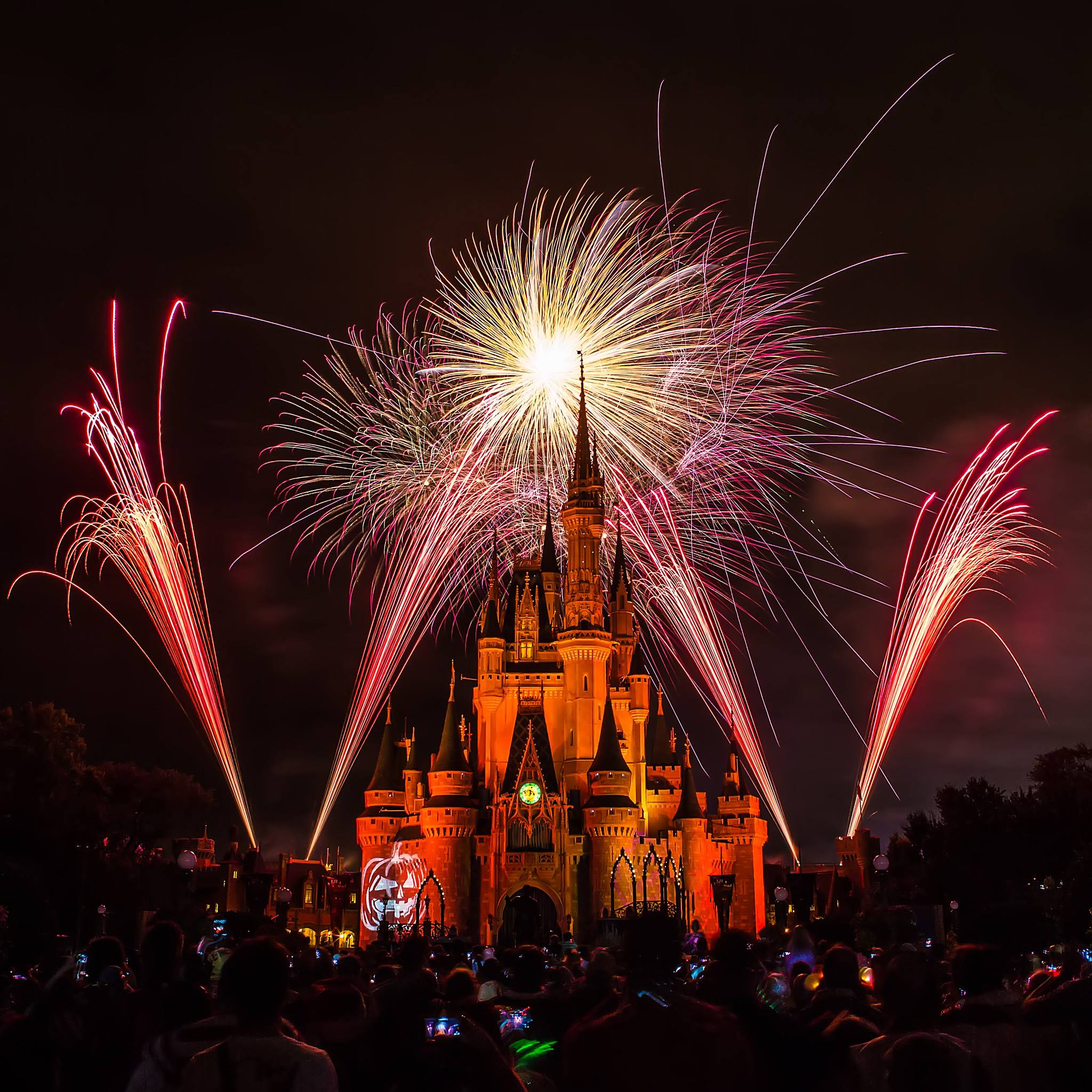 Fireworks at Mickey's Not So Scary Halloween Party