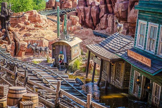 The Gold Dust Saloon on Big Thunder Mountain Railroad