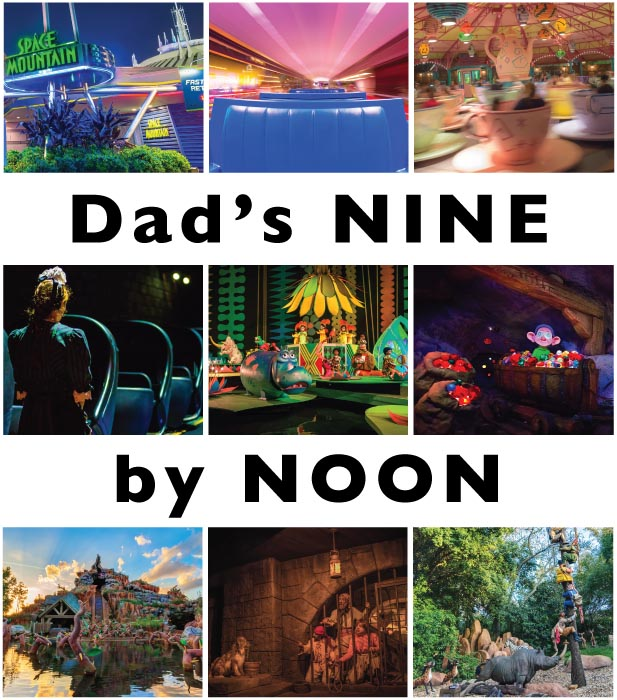 Dad's Nine By Noon Challenge