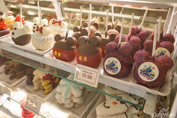 Mickey Apples and more snacks look good
