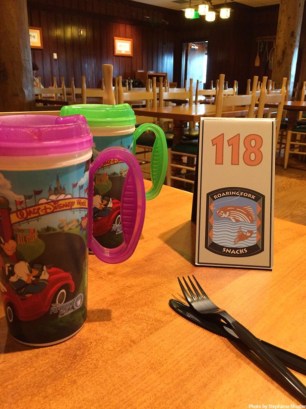 Everyone on the Disney Dining Plan gets a refillable mug