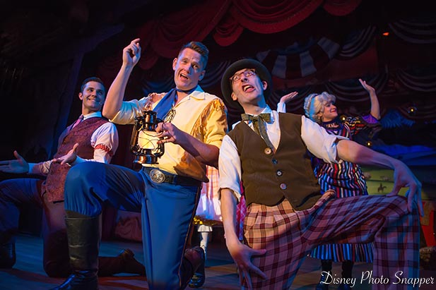 If you're going to Disney World you HAVE to see the Hoop Dee Doo Revue!