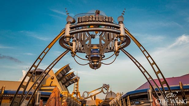 The best rides in the Magic Kingdom are in Tomorrowland