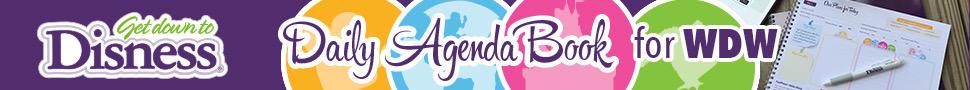 Get Down to Disness Daily Agenda Book