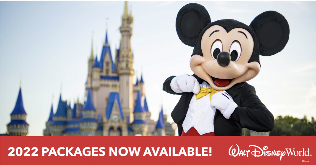 2022 Disney World Packages