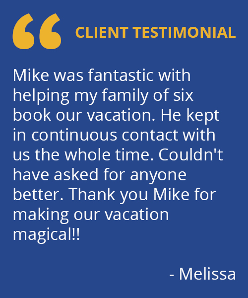 Destinations to Travel Testimonial - Melissa