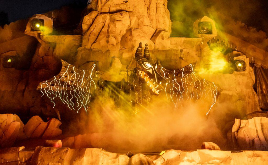 Fantasmic - Maleficent Dragon