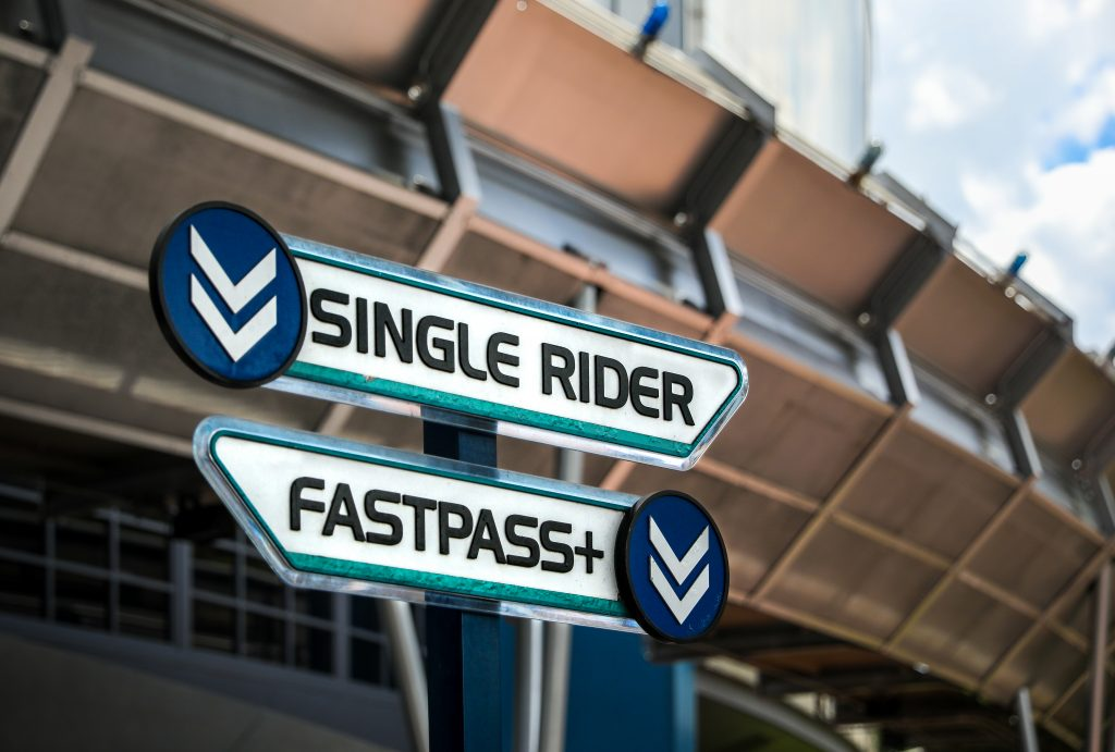 Test Track Single Rider and FastPass+