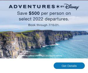 Adventures by Disney Web Banner