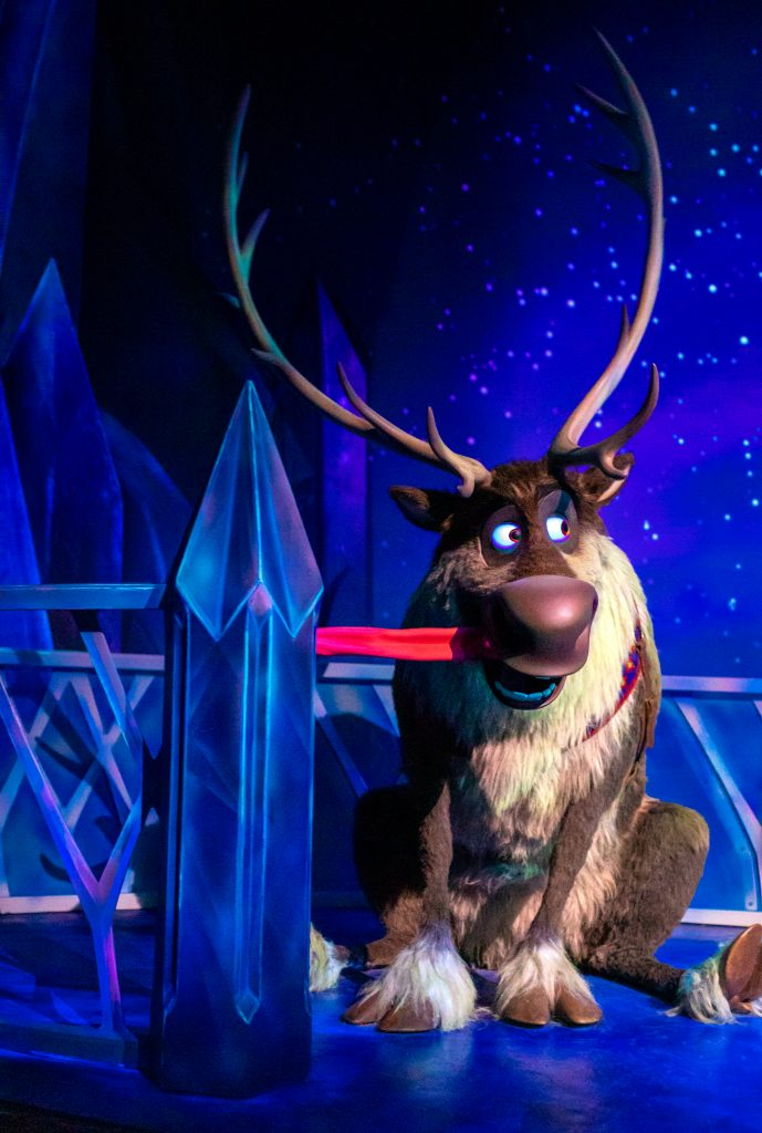 Sven at Frozen Ever After